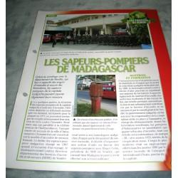 """FICHE FASCICULE POMPIERS COLLECTION """" LES POMPIERS DU MONDE """" fiche 1 collection occasion"""