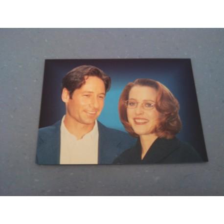Carte Postale de Star - People - David Duchovny & Gillian Anderson- Neuve