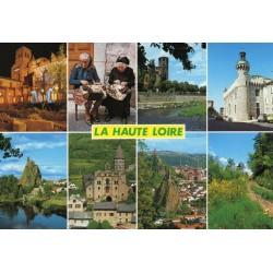 """CARTE POSTALE NEUVE VIERGE COLLECTION """" LA HAUTE LOIRE N°3892 """" ed. Pignol Denis"""