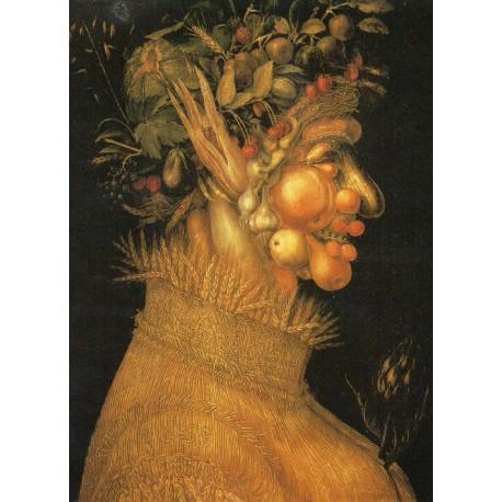 "CARTE POSTALE NEUVE VIERGE COLLECTION "" GIUSEPPE ARCIMBOLDO , l'été 1563 """