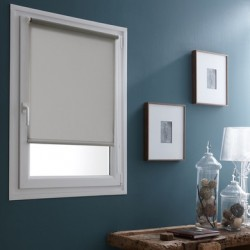 Store enrouleur coloris gris galet 45 x 180 cm Store enrouleur coloris gris galet 45 x 180 cm fenetre rideaux déco neuf