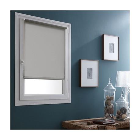 Store enrouleur coloris gris galet 45 x 180 cm Store enrouleur coloris gris galet fenetre rideaux déco neuf