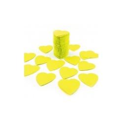 Sachet 75g de CONFETTIS coeur 5cm - en papier couleur jaune FÊTES MARIAGE BAPTÊME ANNIVERSAIRE Mariage neuf
