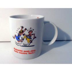 Tasse mug retraité peut être mais encore vert! idée cadeau retraite fête neuve