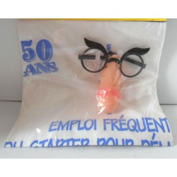 FÊTES ANNIVERSAIRE HUMOUR TABLIER 50 ANS ZIZI SEXY ADULTE