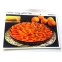 """FICHE CUISINE vintage rétro la bonne cuisine desserts """"tarte aux abricot"""""""