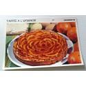 """FICHE CUISINE vintage rétro la bonne cuisine desserts """"tarte à l'orange"""""""