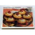 """FICHE CUISINE vintage rétro la bonne cuisine desserts """"galettes aux fraises"""""""
