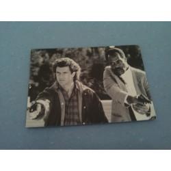 Carte Postale de Star - People - l'Arme Fatale - Mel Gibson, Danny Glover collection neuve