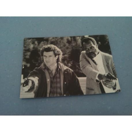 Carte Postale de Star - People - l'Arme Fatale - Mel Gibson, Danny Glover