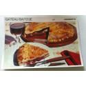 """FICHE CUISINE vintage rétro la bonne cuisine desserts """"gâteau basque"""""""