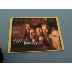 Carte Postale de Star - People - Leonardo Dicaprio, Gerard Depardieu - Le Masque de Fer collection neuve