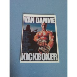 Carte Postale de Star - People - Jean Claude Van Damme - kickboxer collection neuve