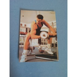 Carte Postale de Star - People - Jean Claude Van Damme - Musculation collection neuve
