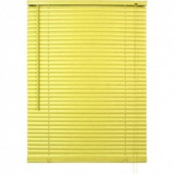 Store vénitien lames pvc vert anis H.130 cm largeur 90 cm neuf