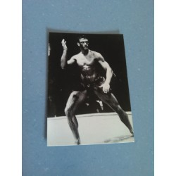 Carte Postale de Star - People - Jean Claude Van Damme - Noir et Blanc collection neuve