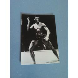 Carte Postale de Star - People - Jean Claude Van Damme - Noir et Blanc