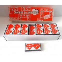 FÊTES ANNIVERSAIRE HUMOUR jeu de dominos amoureux neuf