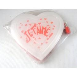 FÊTES ST VALENTIN MARIAGE carnet intime secret je t'aime blanc rouge coeur neuf