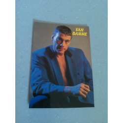 Carte Postale de Star - People - Jean Claude Van Damme - Costume collection neuve