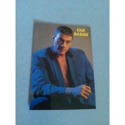 Carte Postale de Star - People - Jean Claude Van Damme - Costume