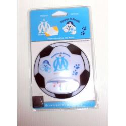 FÊTES FOOT OFFICIEL thermomètre de bain bébé ballon Droit au but-Olympique de Marseille neuf