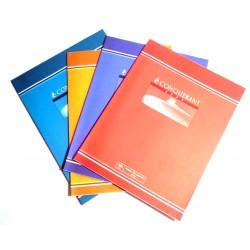 Fourniture scolaire LOT DE 8 CAHIERS 32 PAGES CONQUÉRANT GRAND CARREAUX 70 G N°04 NEUF