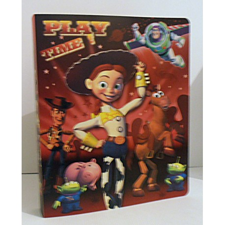 Classeur souple enfant ados TOYS STORY ROUGE A4 Fourniture scolaire neuf