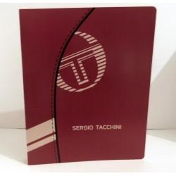 Classeur souple enfant ados SERGIO TACCHINI ROUGE A4 Fourniture scolaire neuf