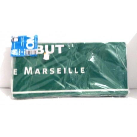 FÊTES FOOT OFFICIEL Lot de 5 nappes papier ballon Droit au but-Olympique de Marseille neuf