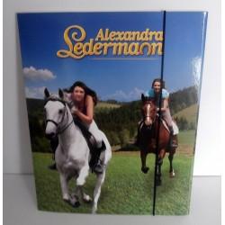 Chemise Pochette cartonnée à rabat souple enfant ados ALEXANDRA LEDERMANN 01 A4 Fourniture scolaire neuf