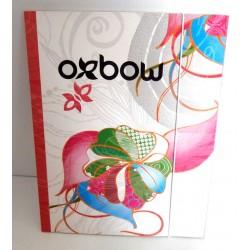 Chemise Pochette cartonnée à rabat souple enfant ados OXBOW 01 A4 Fourniture scolaire neuf