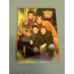 Carte Postale de Star - People - Groupe Worlds Apart - Verticale collection neuve