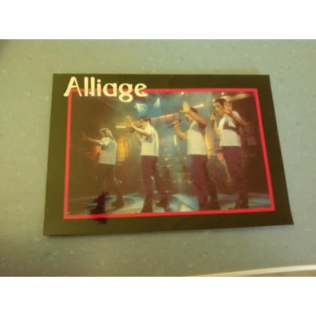 Carte Postale de Star - Groupe Alliage