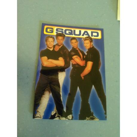 Carte Postale de Star - Groupe G Squad - Verticale