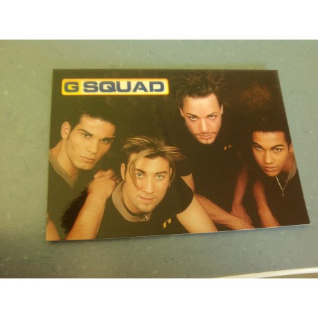Carte Postale de Star - Groupe G Squad - Horizontale
