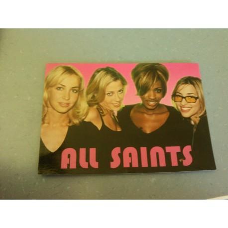 Carte Postale de Star - Groupe All Saints