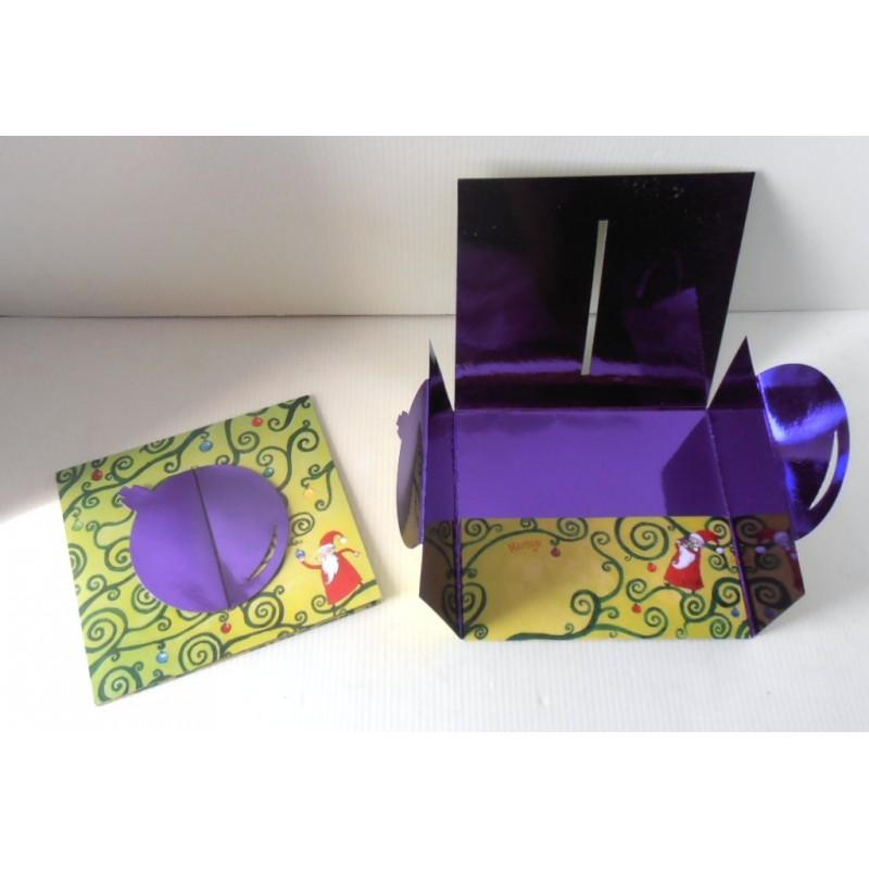 Enveloppes Pochette Cadeau Argent Noel Mariage Anniversaire Fetes 04