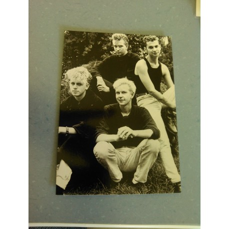 Carte Postale de Star - Groupe Depeche Mode