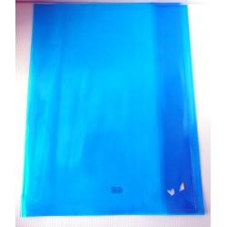 ELBA Lot de 2 protèges cahiers format A4 couleur bleu cristal transparent Fourniture scolaire neuf
