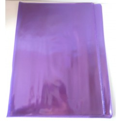 ELBA Lot de 2 protèges cahiers format A4 couleur violet cristal transparent Fourniture scolaire neuf