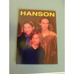 Carte Postale de Star - People - Groupe Hanson collection neuve