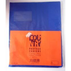 Lot de 5 protèges cahiers PVC format A5 couleurs mélangée Fourniture scolaire neuf