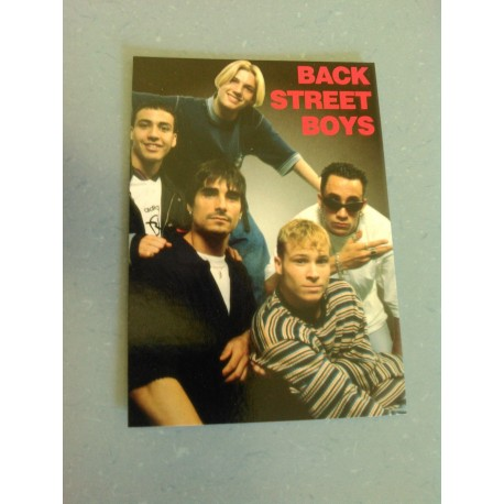 Carte Postale de Star - People - Groupe Backstreet Boys - Verticale