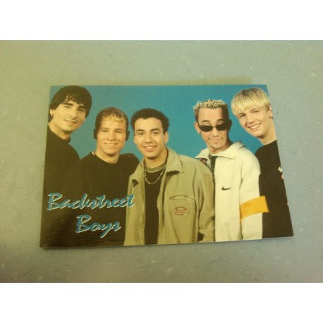 Carte Postale de Star - People - Groupe Backstreet Boys - Horizontale