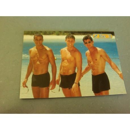 Carte Postale de Star - People - Groupe 2 BE 3