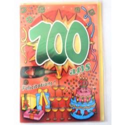 Carte postale neuve fête joyeux anniversaire 100 ans (lot 10)