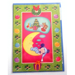 Carte postale neuves avec enveloppe fête anniversaire enfant Disney Winnie l'ourson Mickey (lot 32)
