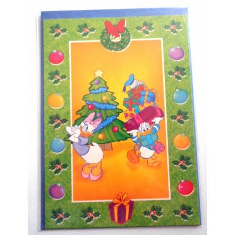 Carte postale neuves avec enveloppe fête anniversaire enfant Disney Winnie l'ourson Mickey (lot 33)