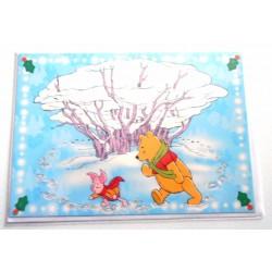 Carte postale neuves avec enveloppe fête anniversaire enfant Disney Winnie l'ourson Mickey (lot 35)